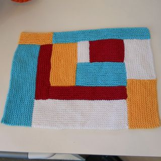 moderne log cabin mason dixon knitting cotton placemats