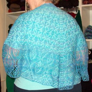 knitty omelet shawl Joyce Fassbender