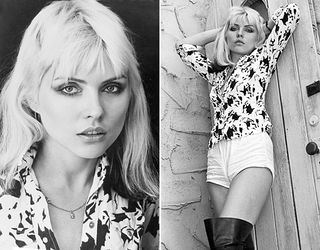 Debbie Harry black and white 1970