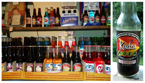 Kudzu Antique Market Atlanta Decatur Georgia vintage soda pop beverages