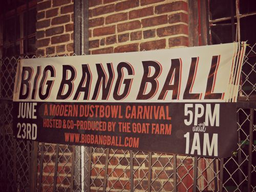 Big Bang Ball Goat Farm Atlanta 2012