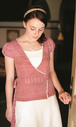 Cloudette Cardigan Jane Austen Knits Claudi Geiger wrap cardigan sweater