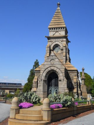 Atlanta historic Oakland Cemetery