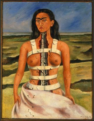 Frida Kahlo The Broken Column High Museum Atlanta Frida & Diego