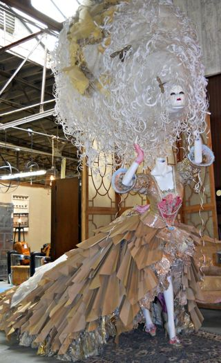 Atlanta paris on ponce marie antoinette paper sculpture