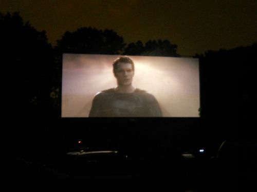 Starlight Drive-In Movie Theater Atlanta Superman Man Of Steel