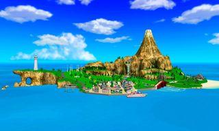 Wii Resort island