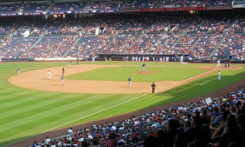 Atlanta Braves New York Mets Turner Field Labor Day 2013