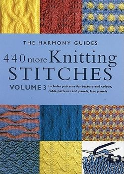 Betheexpert03440 More Knitting Stitches from The Harmony Guides series