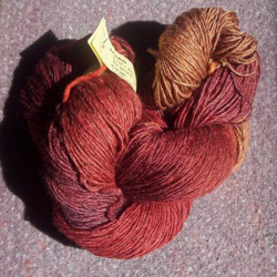 Brooks Farm Yarn Acero merino silk rayon